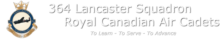 364 Lancaster Royal Canadian Air Cadet Squadron